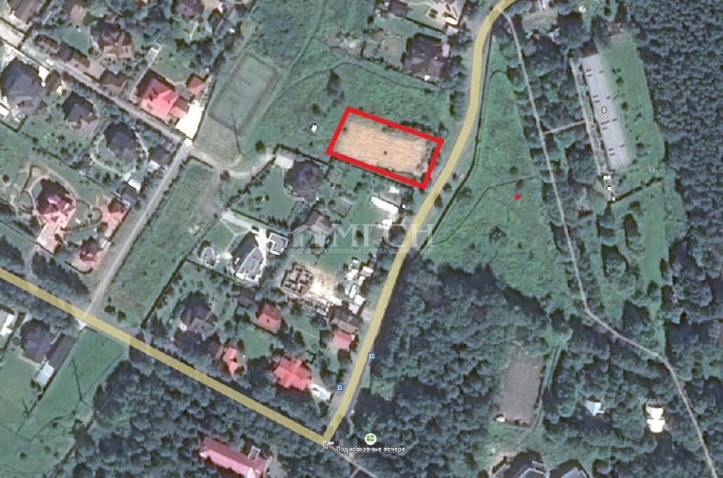 фото участок - Калужское, деревня Жуковка, м. Бунинская аллея