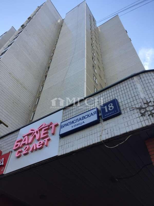 фото 2 ком. квартира - Москва, м. Братиславская, Братиславская улица