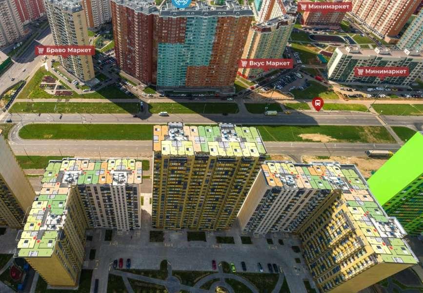 фото 3 ком. квартира - Москва, м. Некрасовка, улица Вертолётчиков
