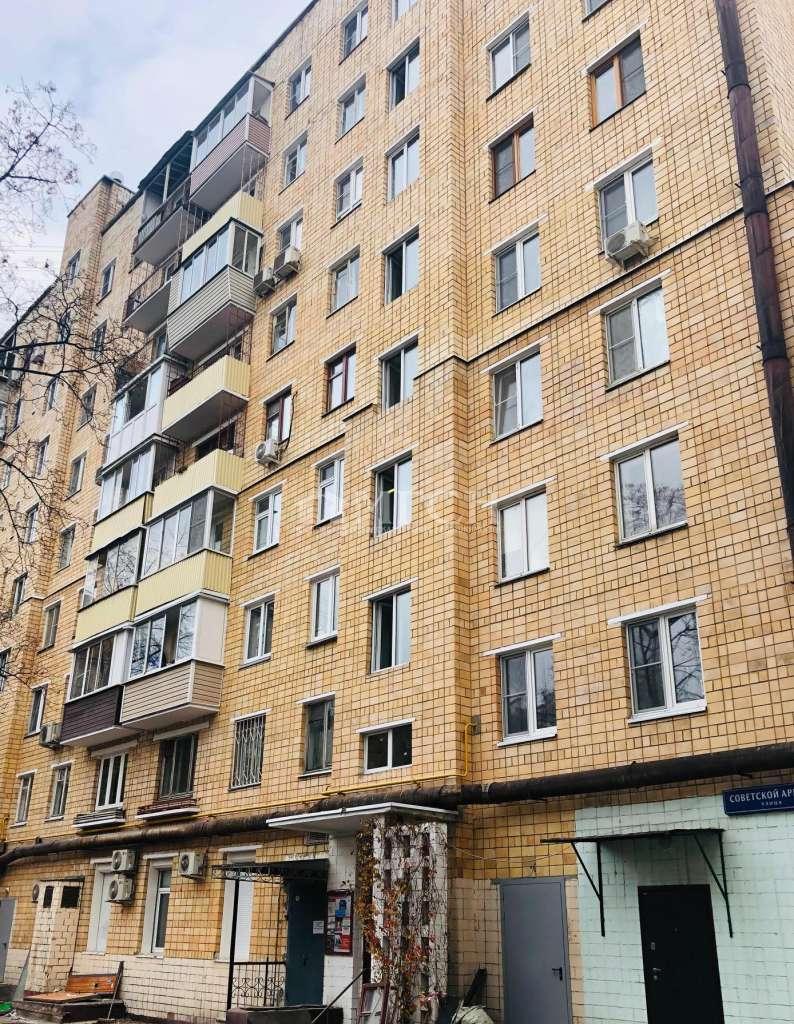 фото 2 ком. квартира - Москва, м. Достоевская, улица Советской Армии