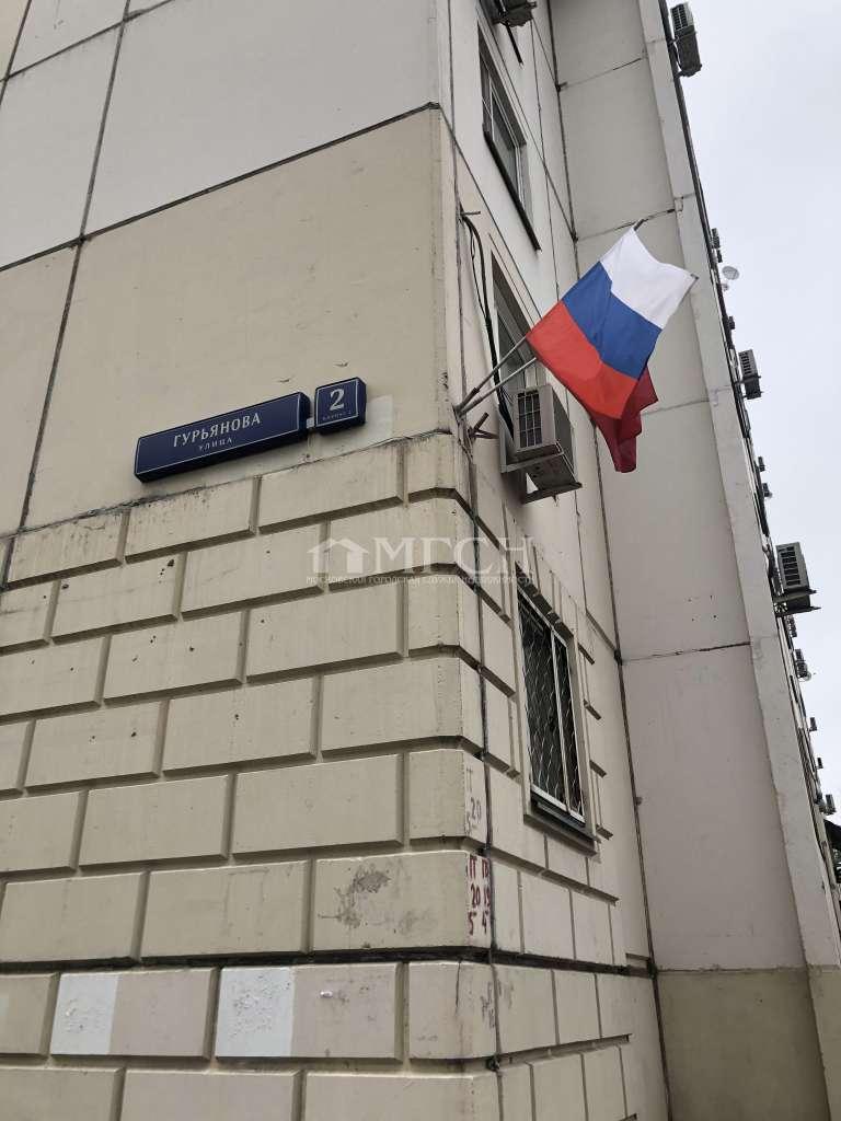 фото 1 ком. квартира - Москва, м. Печатники, улица Гурьянова
